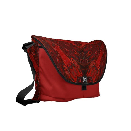 AudArrt Rickshaw Messenger Bag - Japanese Blood Re