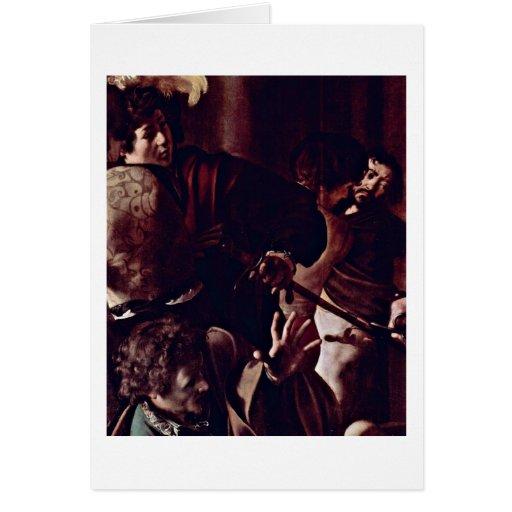 Audience By Michelangelo Merisi Da Caravaggio Cards