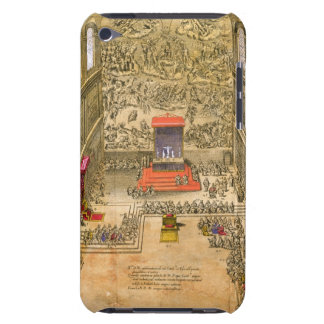Audience Chapel at the Vatican (colour engraving) Barely There iPod Cover