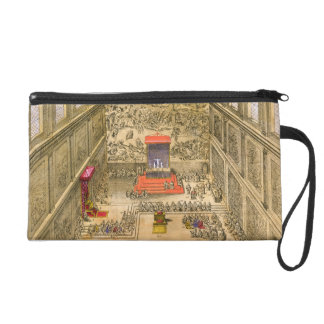 Audience Chapel at the Vatican (colour engraving) Wristlet