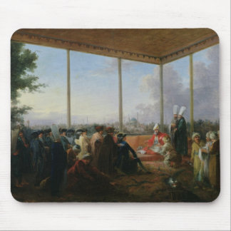 Audience Given in Constantinople Mouse Mat