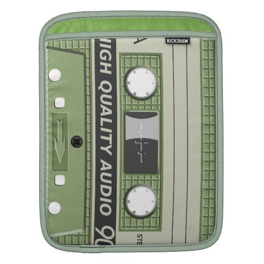 Audio Casseette iPad Sleeve