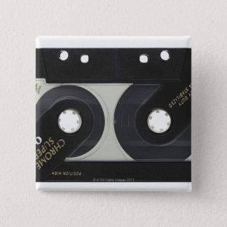 Audio Cassette 15 Cm Square Badge