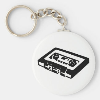 Audio Cassette Key Ring