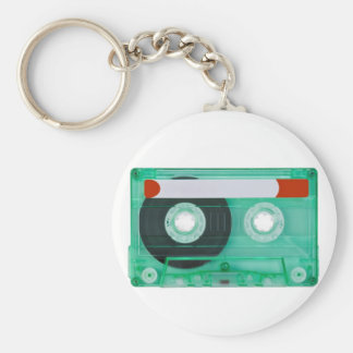 audio compact cassette key chain