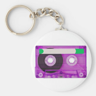 audio compact cassette key ring