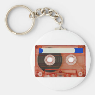 audio compact cassette keychain