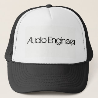 Audio Engineer Trucker Cap