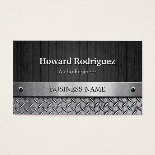 Audio Engineer - Wood and Metal Look Business