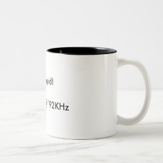 Audio Engineers Drink Two-Tone Coffee Mug