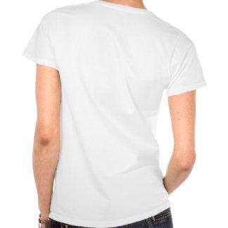 Audio Maniac Ladies White T-Shirt
