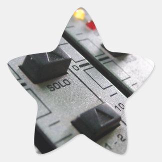 Audio Mixer Star Sticker