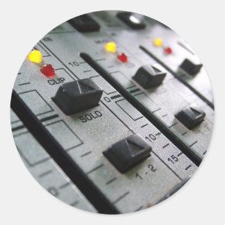 Audio Mixer Stickers