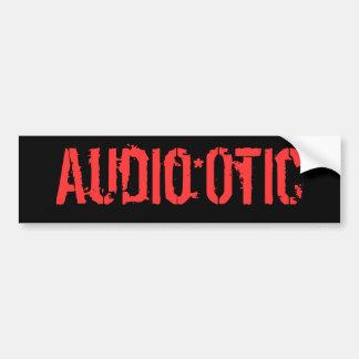 Audio*Otic Bumper Sticker