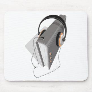 Audiobook Concept Mouse Mat