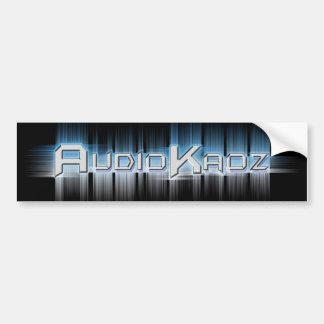 AudioKaoz Bumpersticker Bumper Sticker