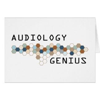 Audiology Genius Greeting Card