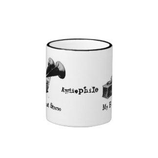 Audiophile - My First Stereo Mug/Cup Ringer Mug