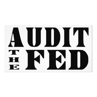 AUDIT THE FED Ron Paul for President Photo Print