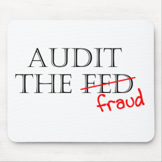 Audit the Fraud Mouse Pad