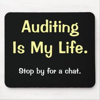 demotivational auditing saying