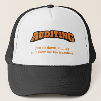 Auditing-Numbers Trucker Hat