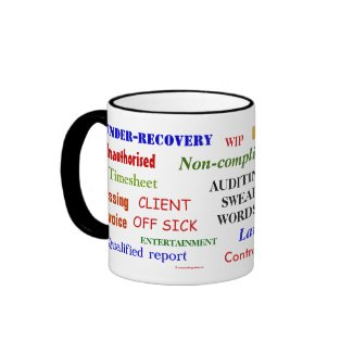 funny Auditing mug