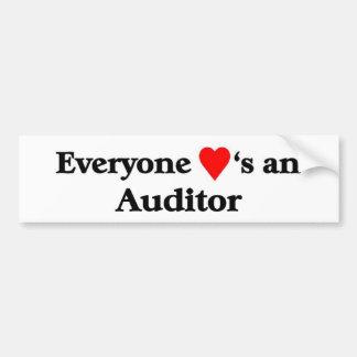 Auditor Bumper Sticker