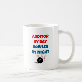 Auditor by Day Bowler by Night Coffee Mug