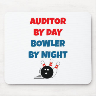 Auditor by Day Bowler by Night Mousepads