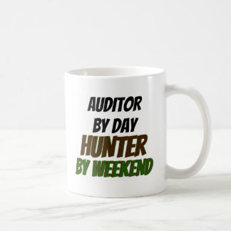 Auditor by Day Hunter by Weekend Coffee Mugs
