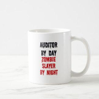 Auditor By Day Zombie Slayer By Night Mug