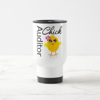 Auditor Chick Stainless Steel Travel Mug