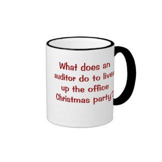 Auditor Christmas Funny and Cruel Joke Coffee Mugs