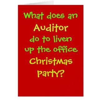Auditor Christmas Joke - Cruel but Funny