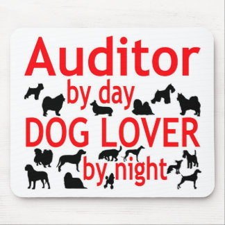 Auditor Dog Lover Mouse Pad