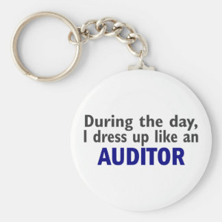 AUDITOR During The Day Key Ring