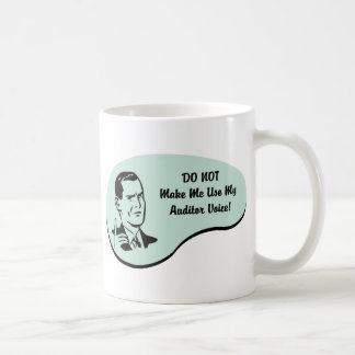 Auditor Voice Mugs