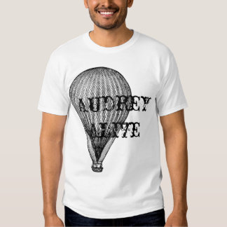Audrey alive - hot air 2 t shirts