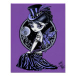 """""""Audrey"""" Gothic Victorian Fairy Poster"""