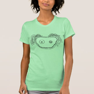 Audrey Graphic Tee - Lime Green