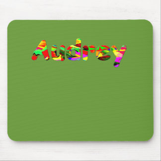 Audrey green mouse pad