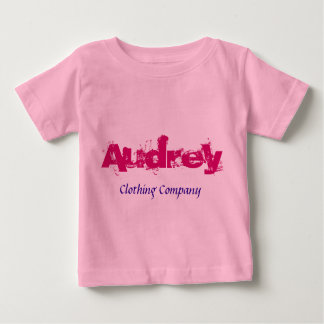 Audrey Name Clothing Company Baby Shirts