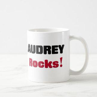 Audrey Rocks Coffee Mugs