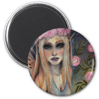 Audrey the Rose Faerie Refrigerator Magnets
