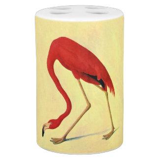 Pink flamingo bath sets for Flamingo bathroom accessories set