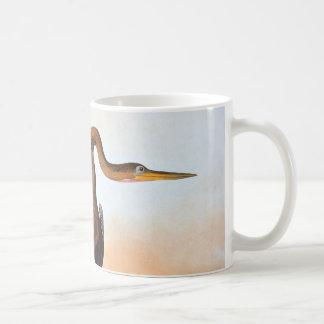 Audubon: Anhinga Basic White Mug