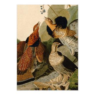 Audubon Bird Grouse Game Fowl Magnetic Invitations