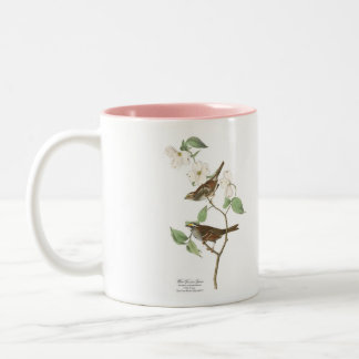 Audubon Bird Mug, White-Throated Sparrow, 15 oz. Two-Tone Coffee Mug