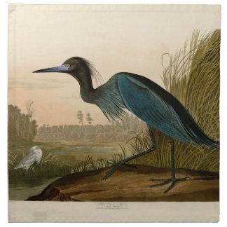 Audubon Blue Crane Heron Birds of America Napkin